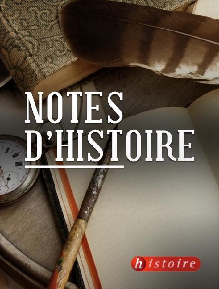 Histoire - Notes d'histoire