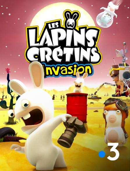 France 3 - Les lapins crétins : invasion