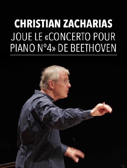 Christian Zacharias joue le «Concerto pour piano n°4» de Beethoven