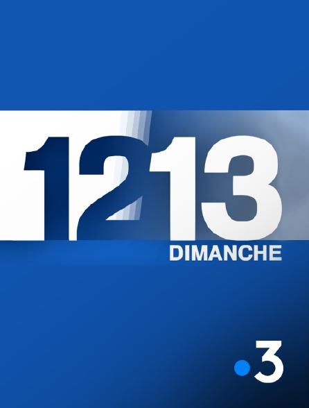 France 3 - 12/13 Dimanche