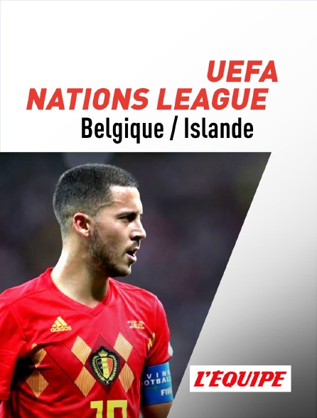 regardez uefa nations league belgique islande sur l. Black Bedroom Furniture Sets. Home Design Ideas