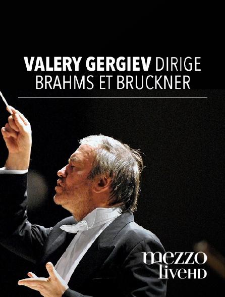 Mezzo Live HD - Valery Gergiev dirige Brahms et Bruckner