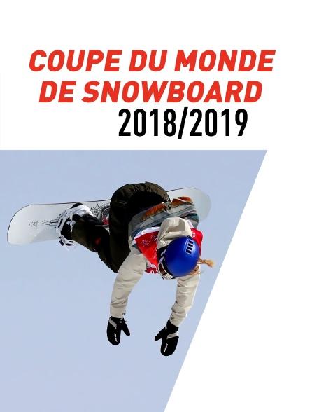 Coupe du monde de Snowboard  2018/2019