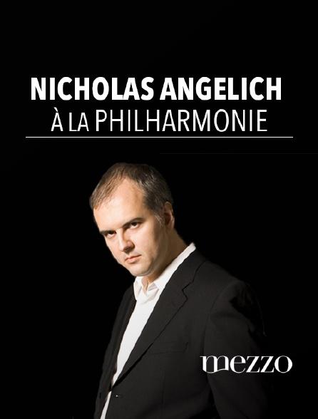 Mezzo - Nicholas Angelich à la Philharmonie