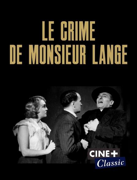 Ciné+ Classic - Le crime de monsieur Lange