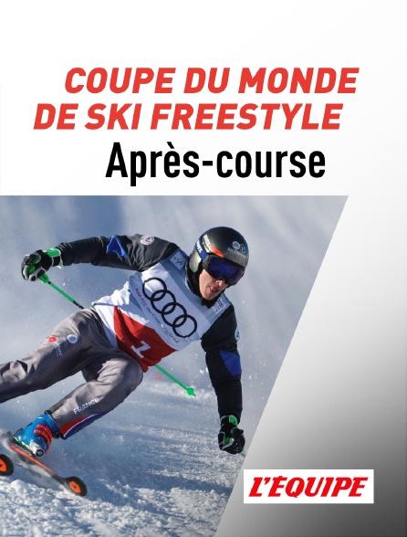 L'Equipe - Coupe du monde de ski freestyle (Après-course)