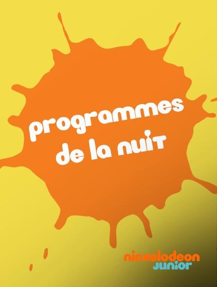 Nickelodeon Junior - Programmes de la nuit