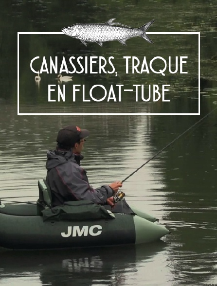 Canassiers, traque en float-tube