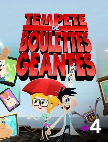 France 4 - Tempête de boulettes géantes