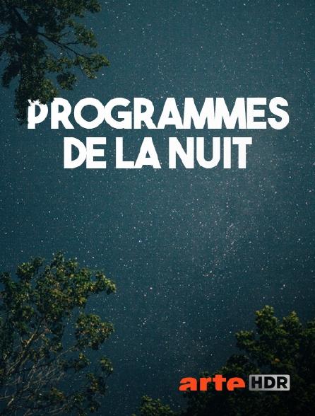 Arte HDR - Fin des programmes