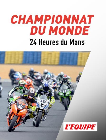 L'Equipe - Moto : Championnat du monde d'endurance