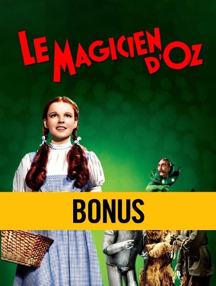 Le magicien d'Oz : bonus
