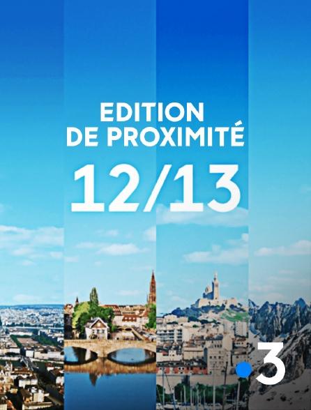 France 3 - 12/13 : Edition de proximité