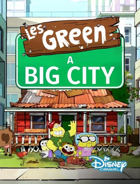 Disney Channel - Les Green à Big City