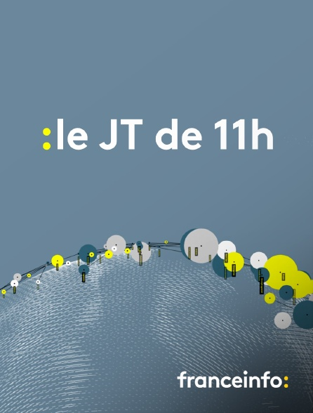 franceinfo: - Le JT de 11h