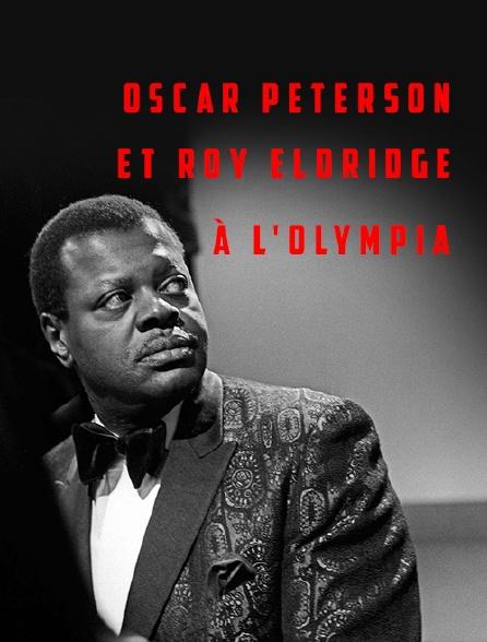 Oscar Peterson et Roy Eldridge à l'Olympia