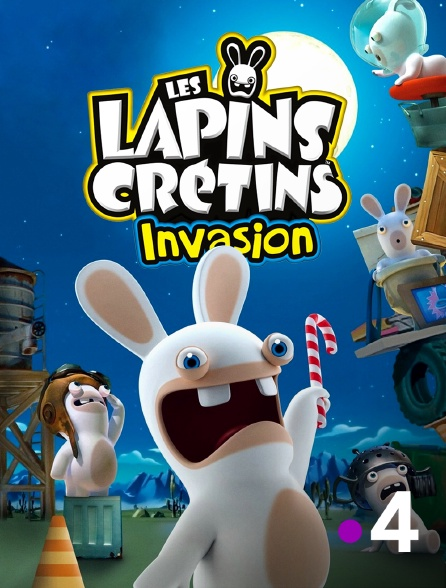 France 4 - Les lapins crétins : invasion