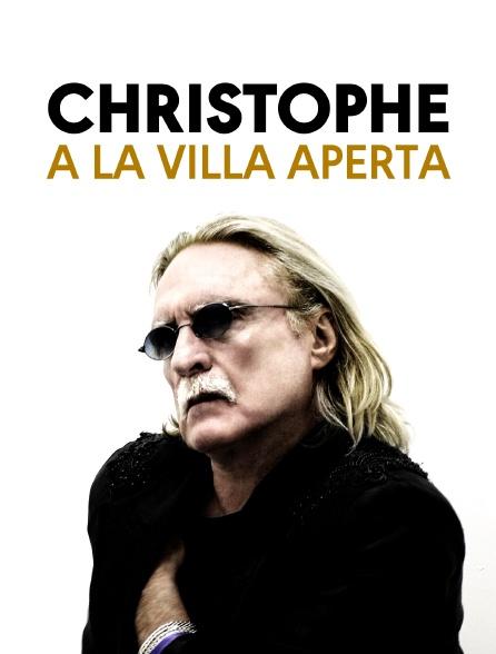 Christophe à la Villa Aperta
