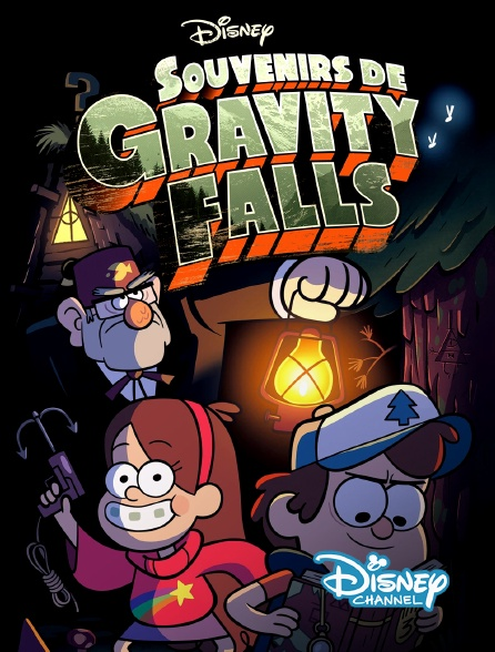 Disney Channel - Souvenirs de Gravity Falls