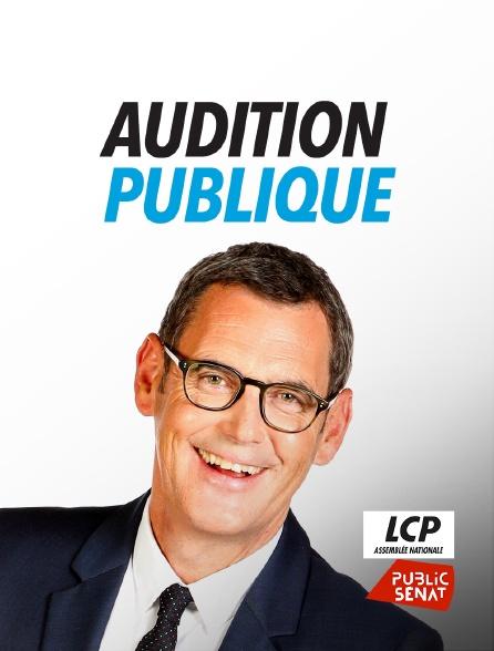 LCP Public Sénat - Audition publique