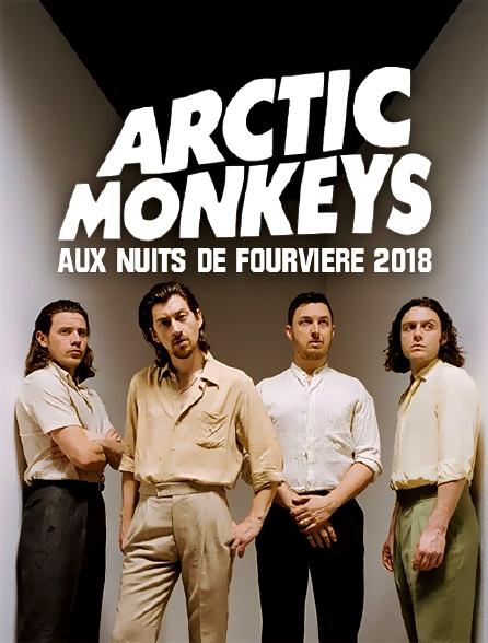 Arctic Monkeys aux Nuits de Fourvière 2018