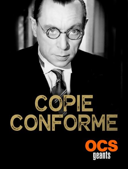 OCS Géants - Copie conforme