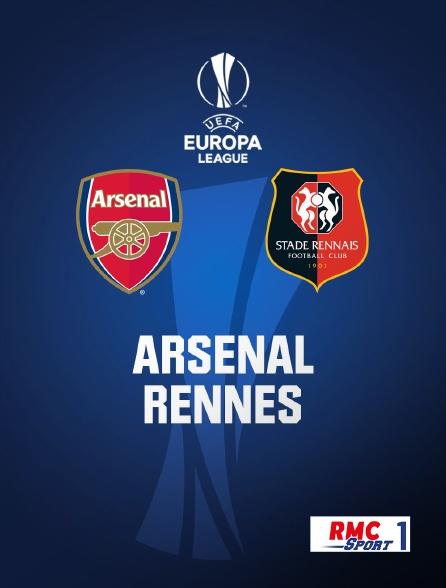 regardez football arsenal gbr rennes fra sur rmc
