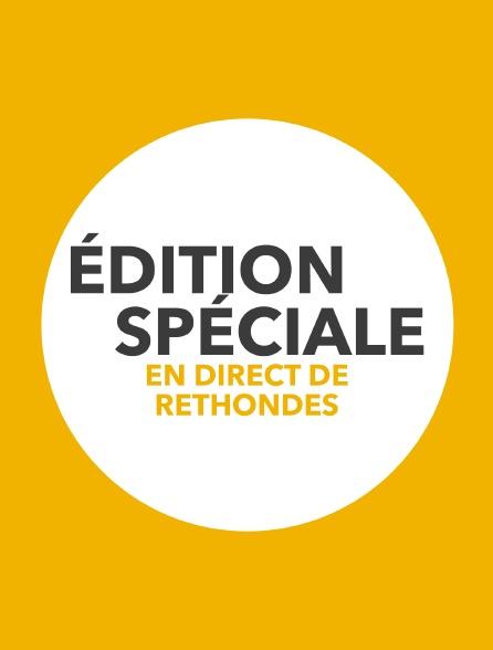 Edition spéciale en direct de Rethondes