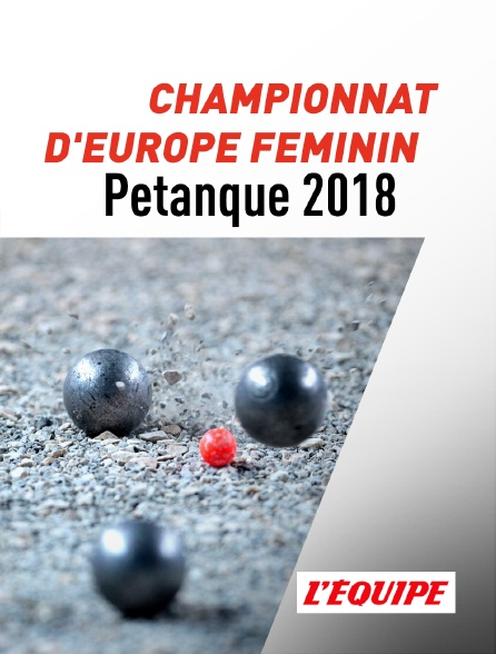 L'Equipe - Championnat d'Europe féminin 2018