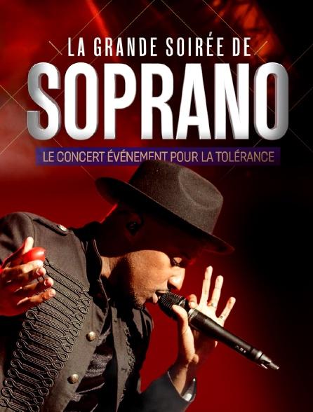La grande soirée de Soprano : le concert pour la tolérance