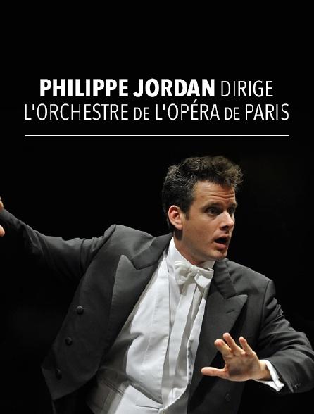 Philippe Jordan dirige l'Orchestre de l'Opéra de Paris