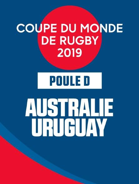 Coupe de monde de Rugby 2019 - Australie / Uruguay