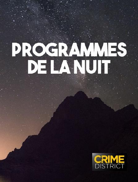 Crime District - Fin des programmes