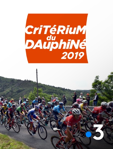 France 3 - Critérium du Dauphiné 2019