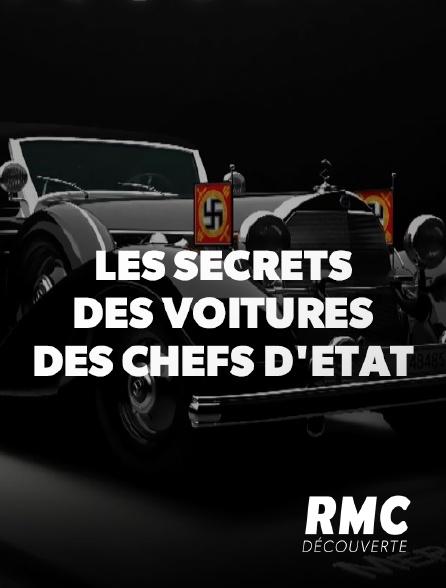 RMC Découverte - Les secrets des voitures des chefs d'Etat