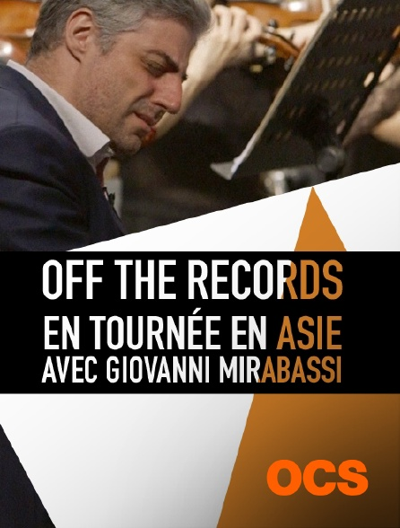 OCS - Off the Records : en tournée en Asie avec Giovanni Mirabassi