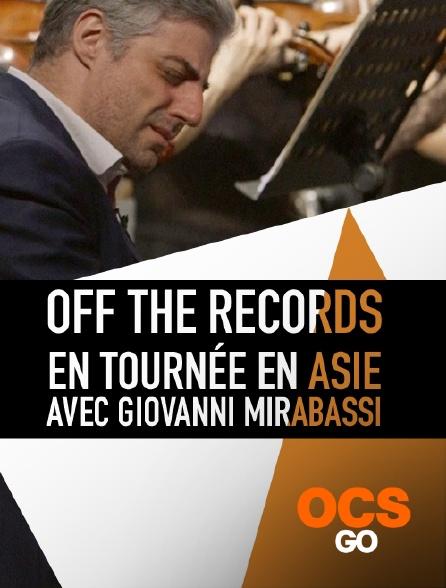 OCS Go - Off the Records : en tournée en Asie avec Giovanni Mirabassi