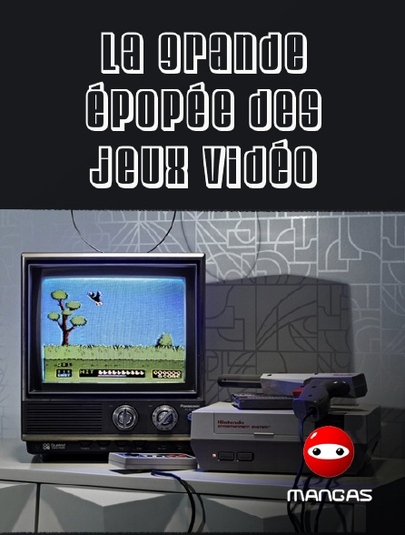 Mangas - La grande épopée des jeux vidéo
