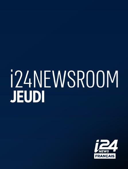 i24 News - I24news Room Jeudi