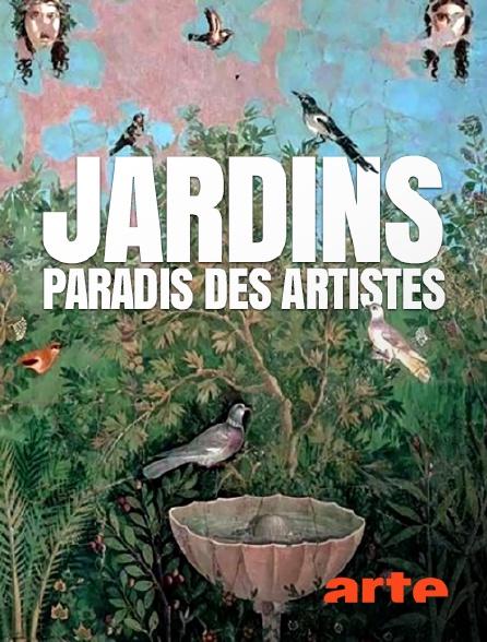 Arte - Jardins, paradis des artistes