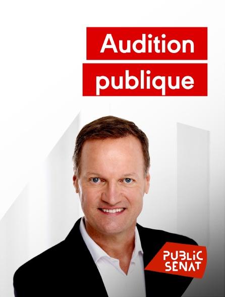 Public Sénat - Audition publique