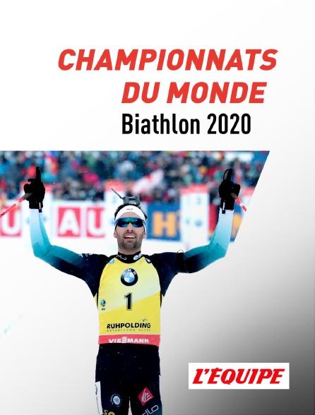 L'Equipe - Championnats du monde 2020