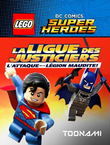 Toonami - Lego DC Comics Super Heroes : La ligue des Justiciers et l'attaque de la légion maudite