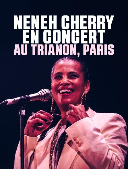 Neneh Cherry en concert au Trianon, Paris