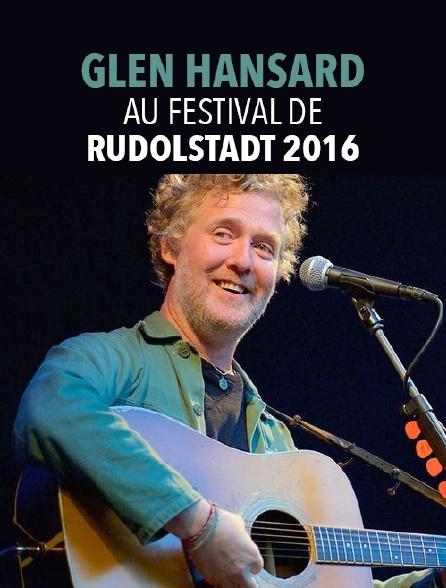 Glen Hansard au Festival de Rudolstadt 2016