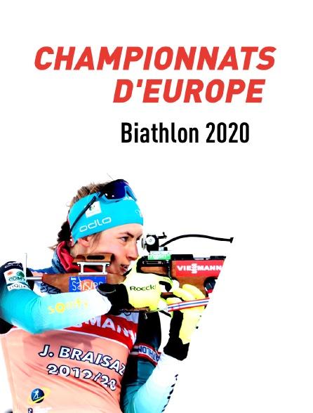 Championnats d'Europe de biathlon 2020