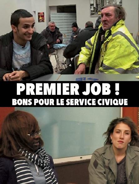 Premier job : bon pour le service civique