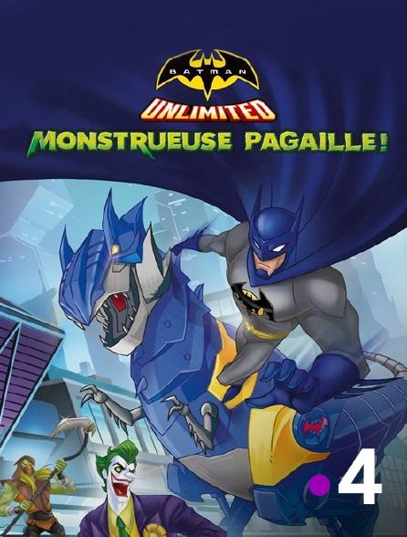 France 4 - Batman Unlimited : monstrueuse pagaille