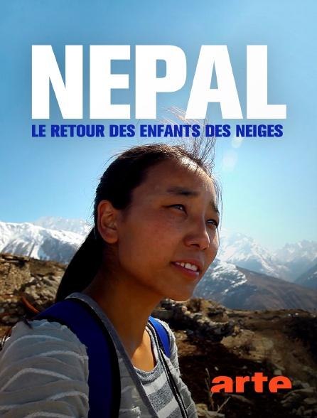 Arte - Népal, le retour des enfants des neiges