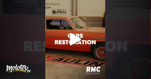 regardez cars restoration sur rmc d couverte avec molotov. Black Bedroom Furniture Sets. Home Design Ideas